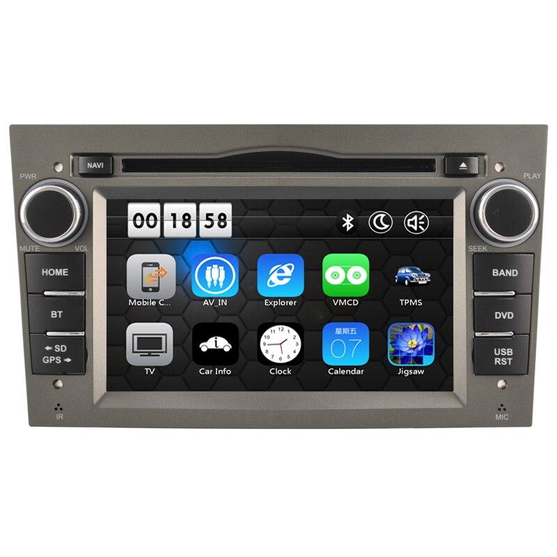 Livraison gratuite 7 lecteur DVD de voiture GPS système de Navigation Bluetooth Ipod peut Bus 3G pour Opel Corsa Astra Zafira Vectra Meriva