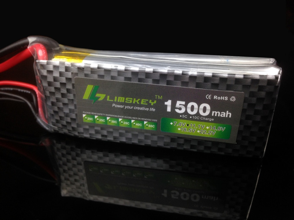 Limskey POWER 3S 11.1V 1500MAH T/XT60 Remote control model aircraft battery manufacturers Lithium Polymer 2S Li-po 11.1v battery enlarge
