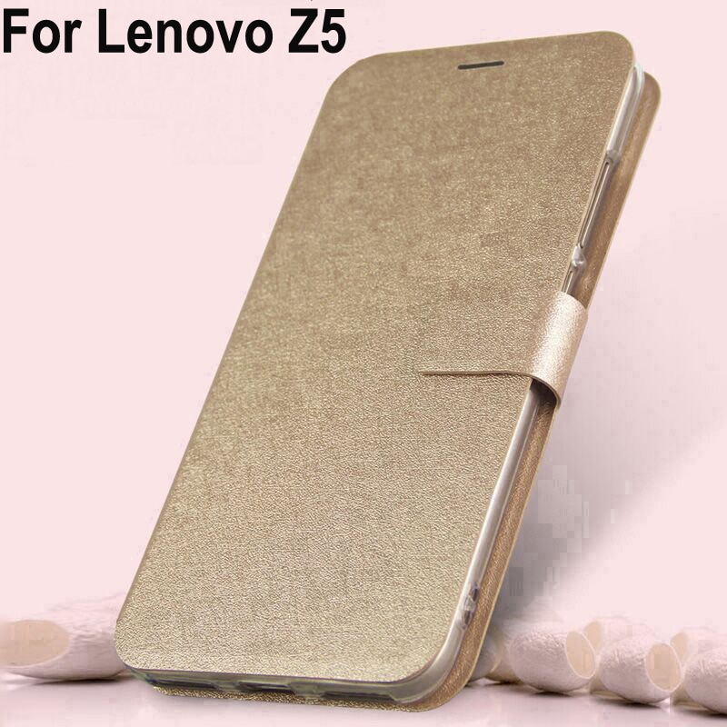 Fundas para Lenovo Z5 Funda de cuero PU Sillcon Lenovoz5 coque flip Cierre magnético contraportada para Lenovo Z 5 L78011 shell