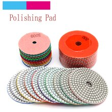 "10pcs 3/4"" Diamond Polishing Disc Granite Marble Polish Wet Use Concrete Sander Pad Diamond Tool Stone Grinding Buff"