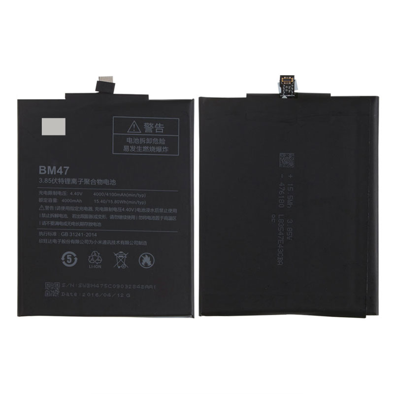 Original Backup For Xiaomi Redmi 3 BM47 Battery Smart Xiaomi Redmi 3S Mobile Phone+ + Tracking Number+ In Stock enlarge