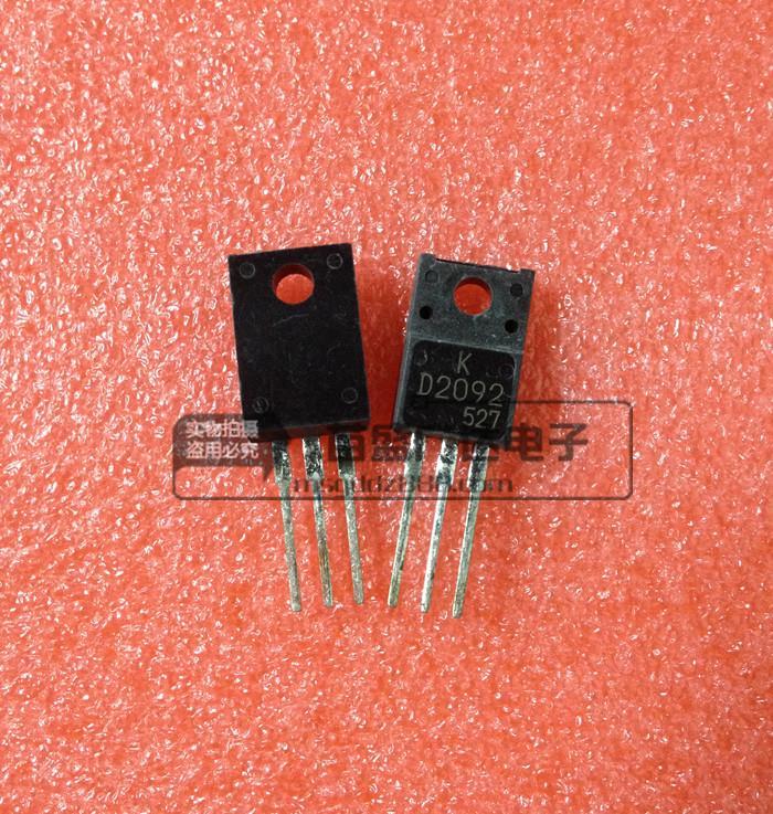5 sztuk KTD2092 2SD2092 D2092 KEC TO220F