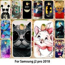 Coque en Silicone pour Samsung Galaxy J2 2018 J2 PRO 2018 coque en Silicone pour Samsung Galaxy Gand Prime Pro J250 J250F SM-J250F SM-J250F/DS