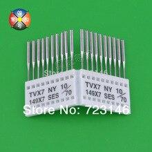 100 Psc Industrielle Nähmaschine Nadeln Schneiden Punkt Tvx7 63-20 für Juki Typische für Brother Janome Siroba Kancai