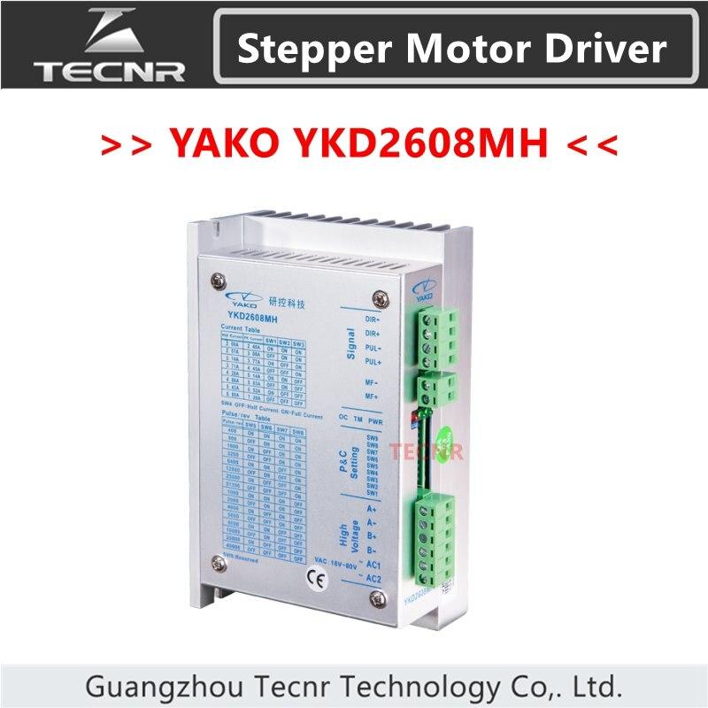 YAKO motor paso a paso de dos fases YKD2608MH partido con 57 86 motor paso a paso reemplazar viejo modelo YKC2608M-H