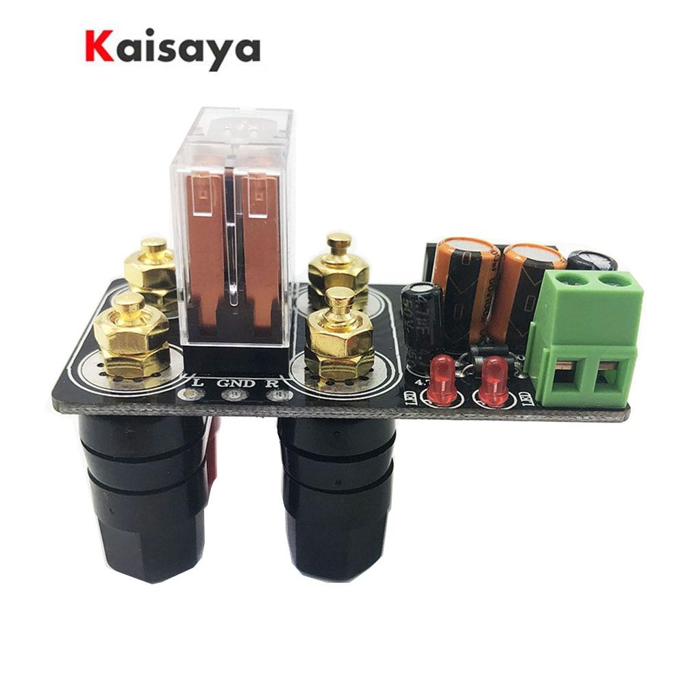 Tablero de protección del altavoz UPC1237 montado directamente en el AC12-24V del chasis para A1-004 de amplificador de alta fidelidad