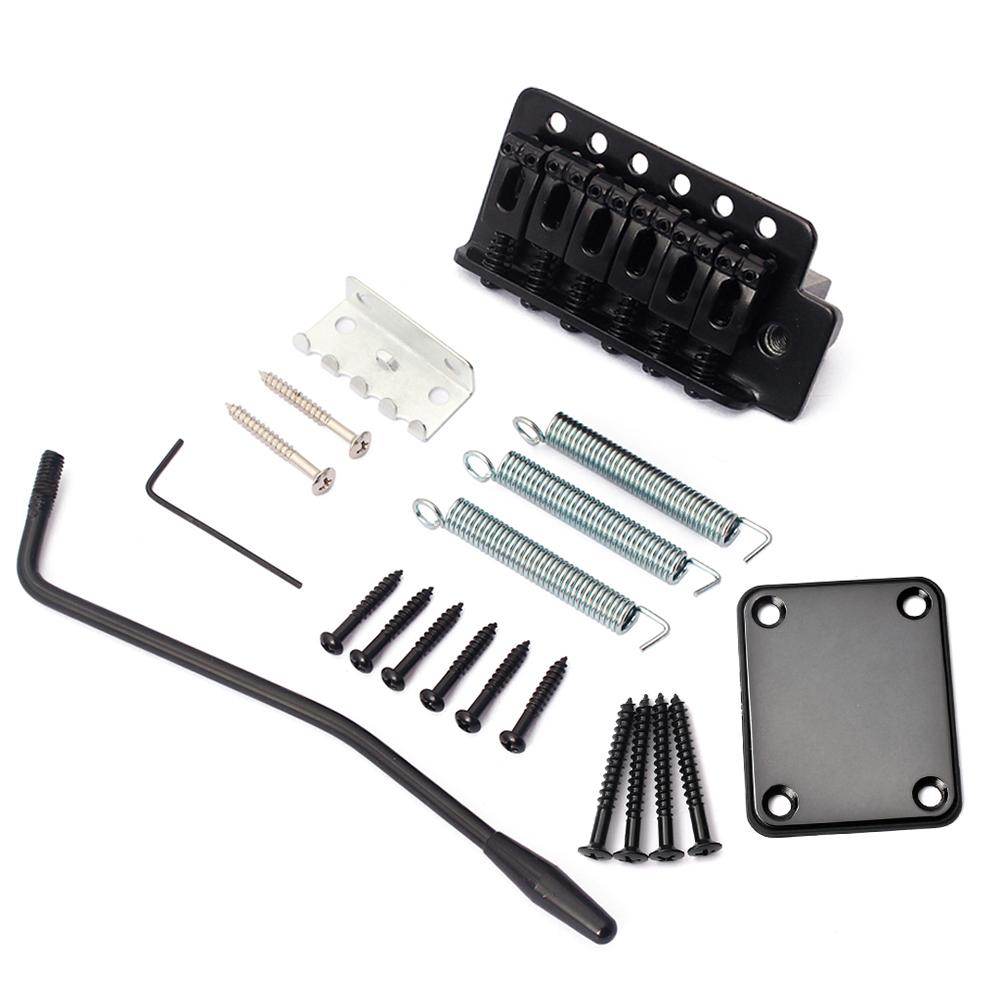 NEW Electric Guitar Tremolo Bridge System with Neck Plate for Stratocaster Strat ST