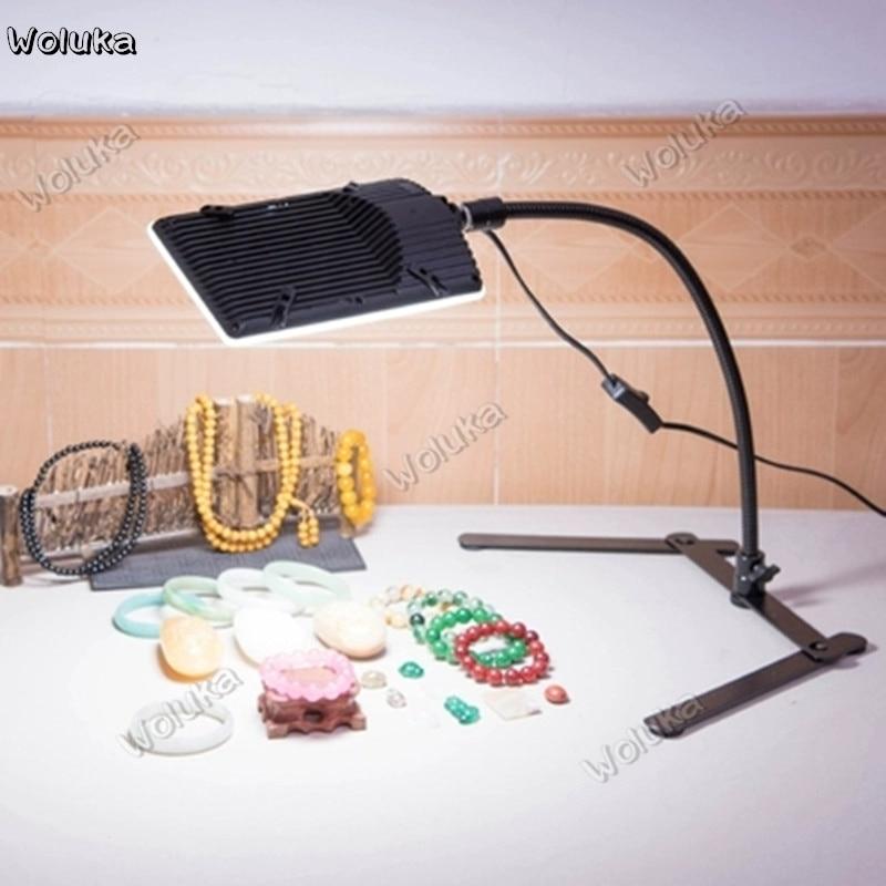 Lámpara de captura led en vivo de 100W para fotografía, lámpara superior de vídeo, luz constante, luz superior CD50 T03