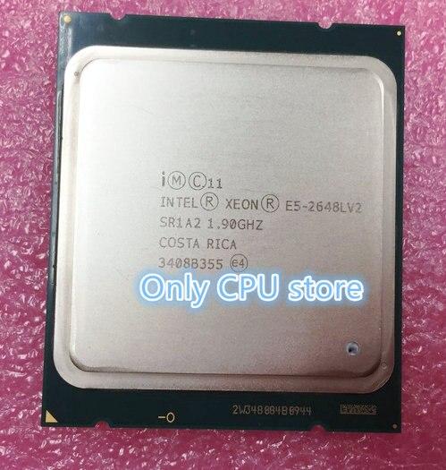 Intel Xeon CPU SR1A2 E5-2648LV2 1.90GHz 10-Core 25M LGA2011 E5 2648LV2 E5 2648L V2 E5-2648L V2 processor frete grátis