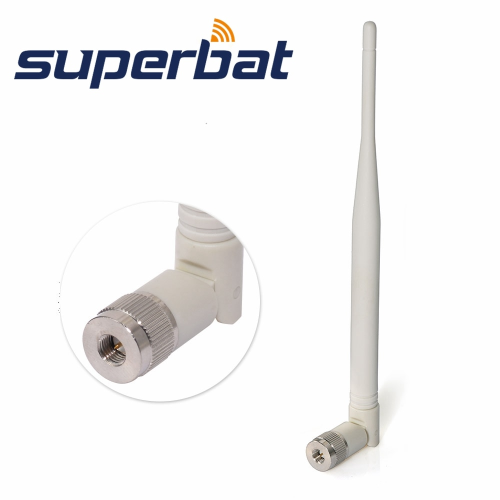 Superbat WiFi GSM 3G 4G LTE antena 700 Mhz-2800 Mhz SMA Banda ancha alta ganancia omnidireccional amplificador de señal inalámbrica