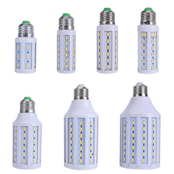 LED Corn Bulb E27 110V-220V 5730 Home Lighting LED Bulb 24LED 42LED 60LED 84LED 98LED 132LED 165LED.