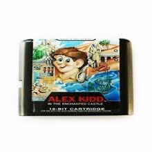 Carte de jeu Alex Kidd 16 bits MD pour Sega Mega Drive pour SEGA Genesis