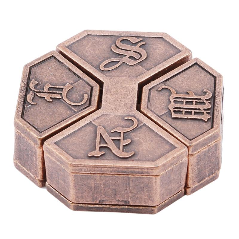 Legierung Box Lock Puzzle Klassische Metall Gehirn Teaser IQ und EQ Test Spielzeug Für Schule Klassenzimmer Erwachsene Kinder Kinder Geschenke
