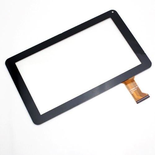 "Nuevo 9 ""pulgadas digitalizador de pantalla táctil de cristal para Allwinner A13 CZY6366A01-FPC negro"