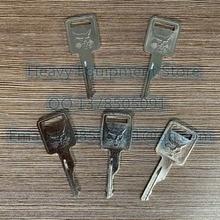 5 pièces Clés pour BOBCAT Contacteur-Démarreur Ajustement Dérapage Chargeuse Mini Pelle MT55