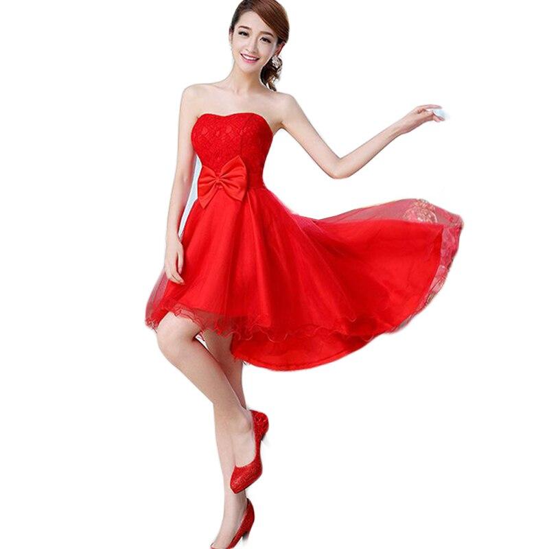 Vestido Rojo De Madrina para dama De honor, vestido Sexy De Boda...