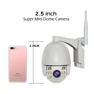 Mini PTZ Camera 5X Zoom HD  960P Waterproof Security IP Camera 360° View ONVIF CCTV Video Surveillance System Full Color Night