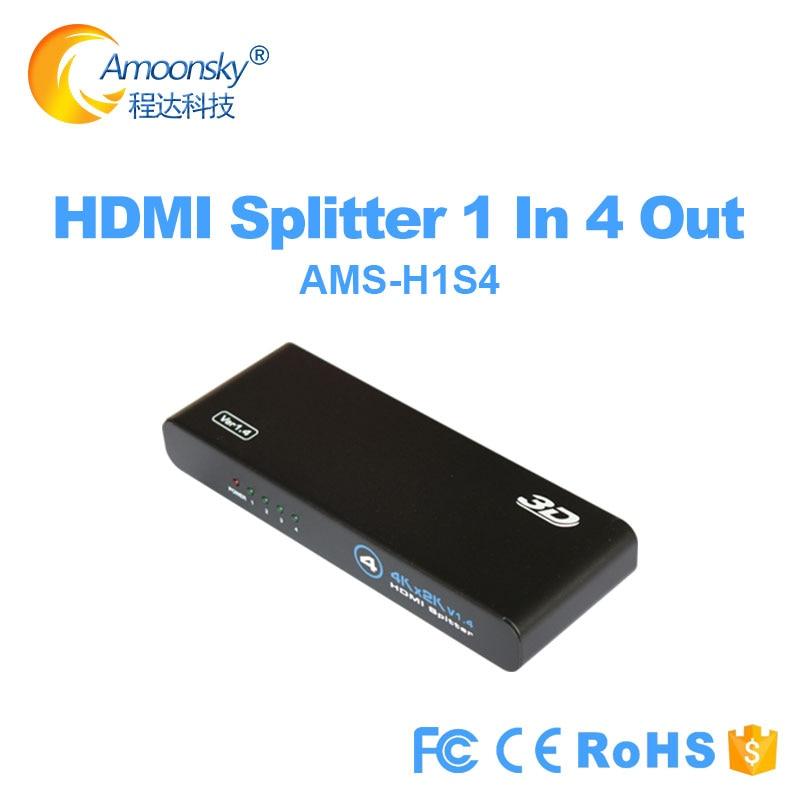 4K HDMi compatible con divisor Full HD 1080p 3D Video compatible con...