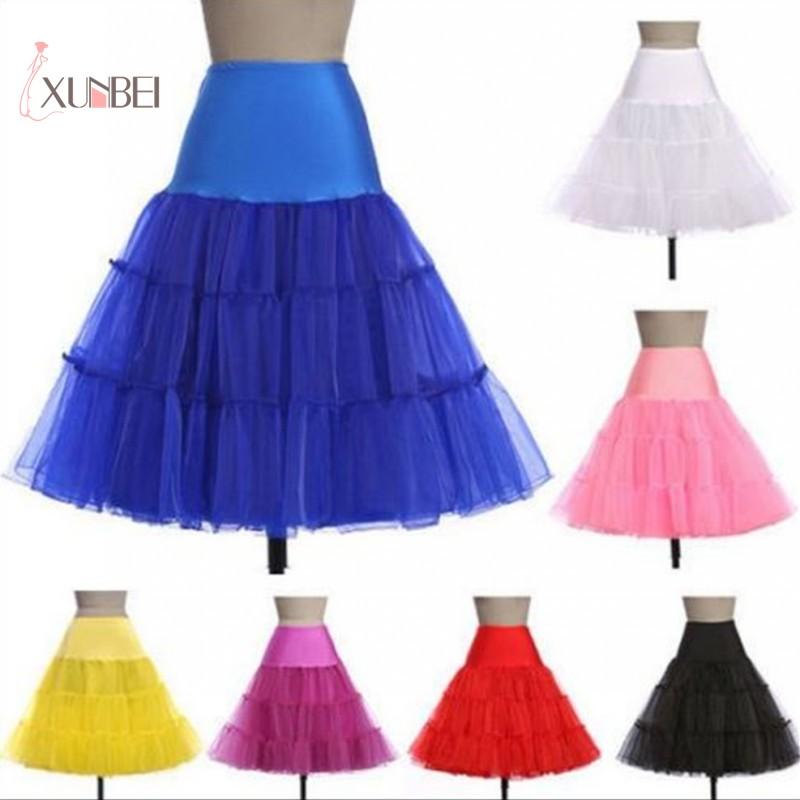 Woman Black Bridal Wedding Dress Petticoat Crinoline Short Skirt Rockabilly Tutu Underskirt Accessories Jupon Mariage