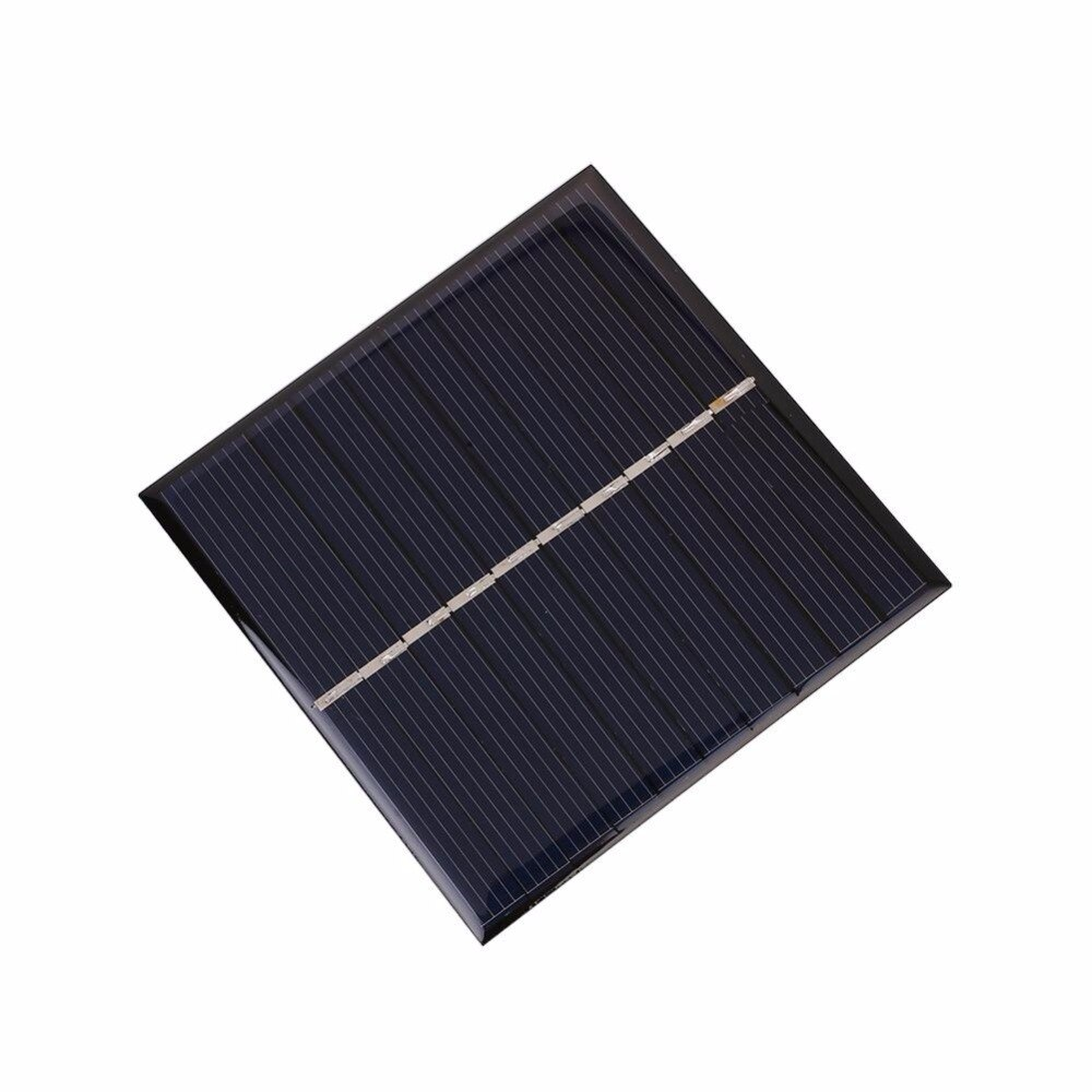 Epoxy solar panel 80mm x80cm 5V 6V small size solar cell module waterproof for charging battery LED light baby toys 2pcs/Lot