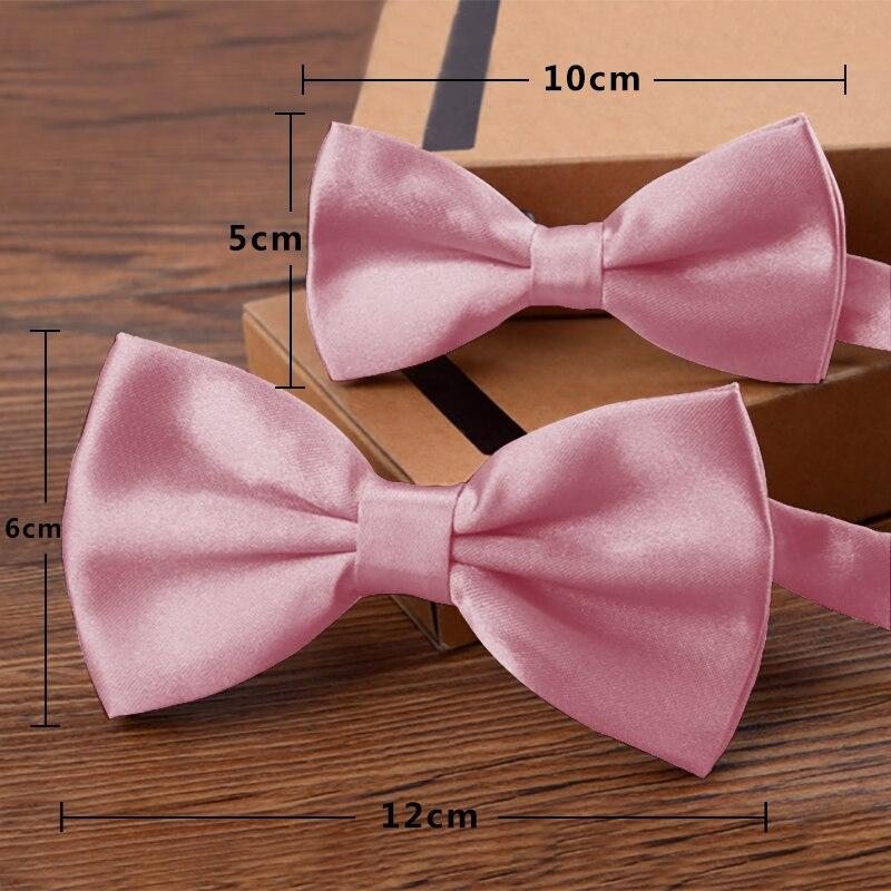 2 uds. Pajarita de Color rosa con pajarita para hombres y padres e hijos, Pajarita clásica para hombres, corbatas de lazo para niños, pajarita de moño para fiesta TZQZa0008