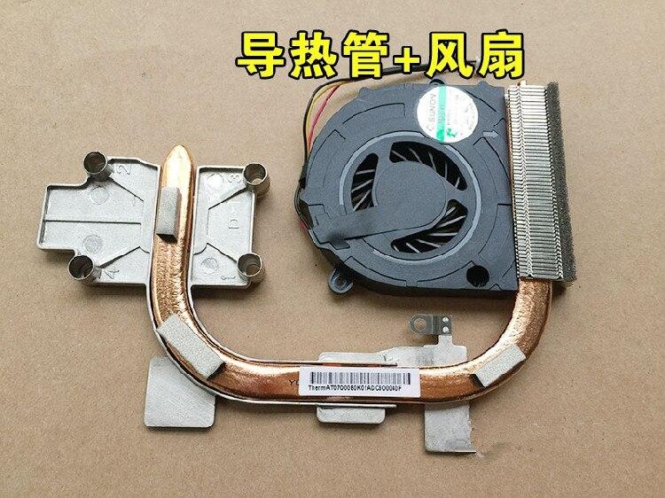 Neue Laptop CPU Kühler Kühlkörper Kühler Fan Für Lenovo G450 G450A G455 G550 B550 G555 B550 GB0507PGV1-A 5V 2,0 W AT07Q00B0K0