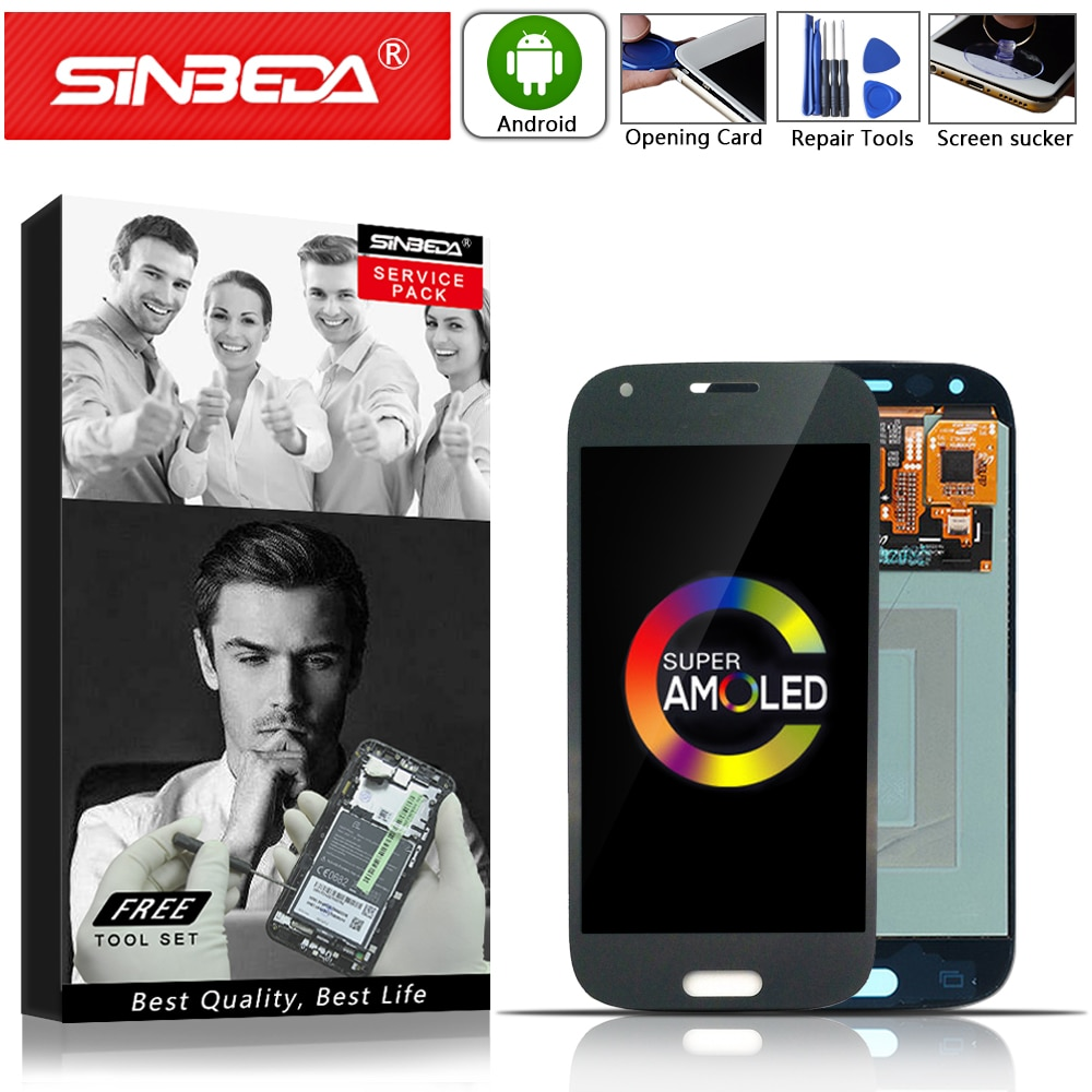 "AMOLED 4,3 ""para SAMSUNG Galaxy Ace 4 G357 G357F pantalla LCD de montaje de digitalizador con pantalla táctil para Samsung G357 pantalla SM-G357 LCD"