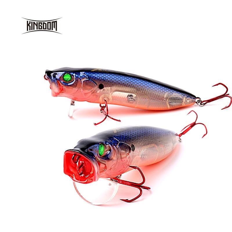 Reino Unido Topwater flotante señuelo duro para pesca Popper Wobblers conmutable la lengua de 70mm/90mm/110mm seis colores modelo 5367