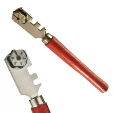 1 pièces 130mm professionnel Portable diamant à pointe de verre carrelage coupe fenêtre artisanat pour outil à main