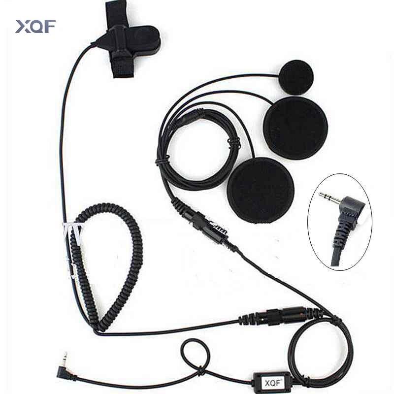 2,5 мм мотоциклетный шлем с полным лицевым покрытием, гарнитура, микрофон, PTT для Motorola, портативная рация, T5428 TLKR T80 T6 T60