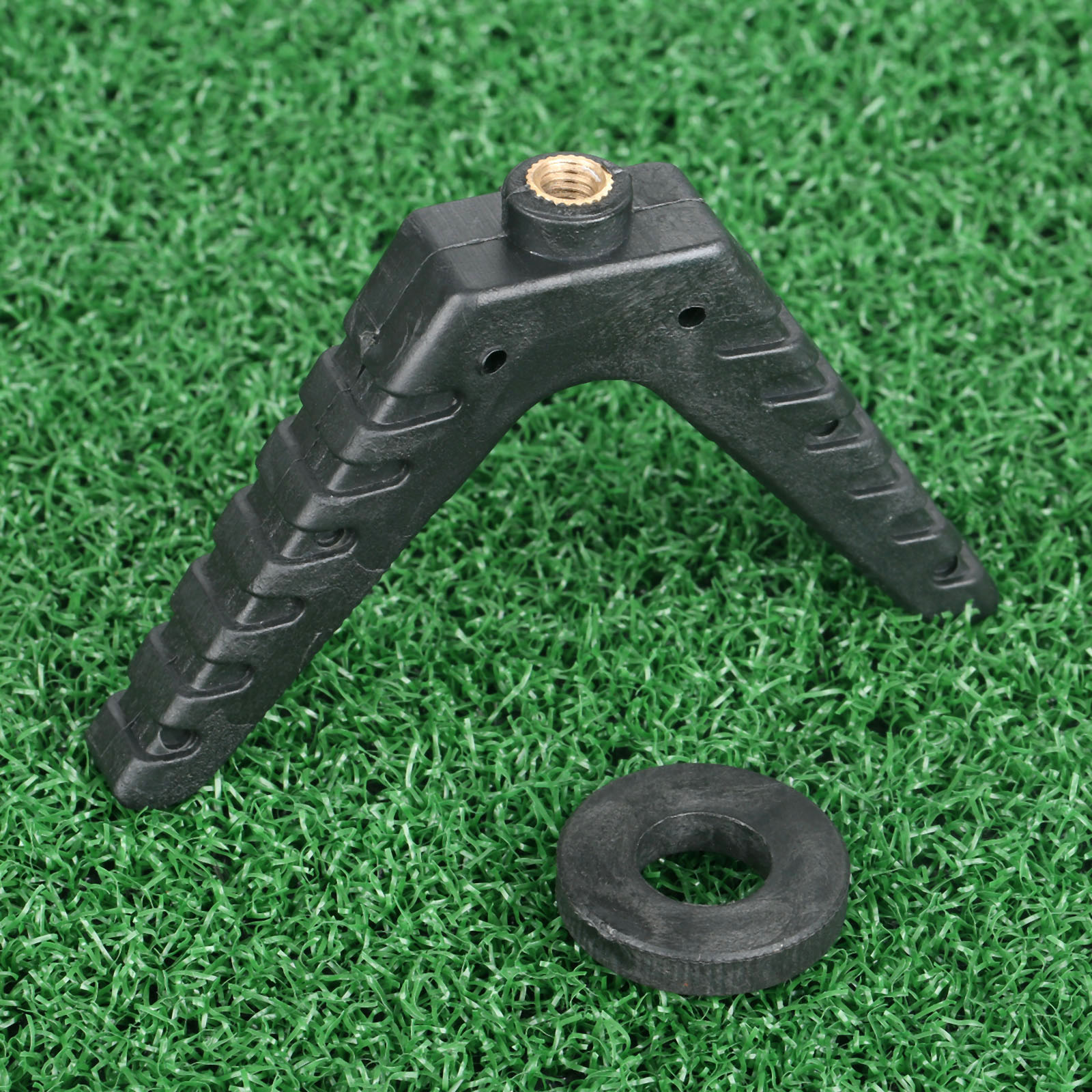 Plastic Universal Hunting Gun Rest Stick Shooting Accessories Fit For Rack V-Yoke V Camera Tripod With Bottom M6x1.0 Threads