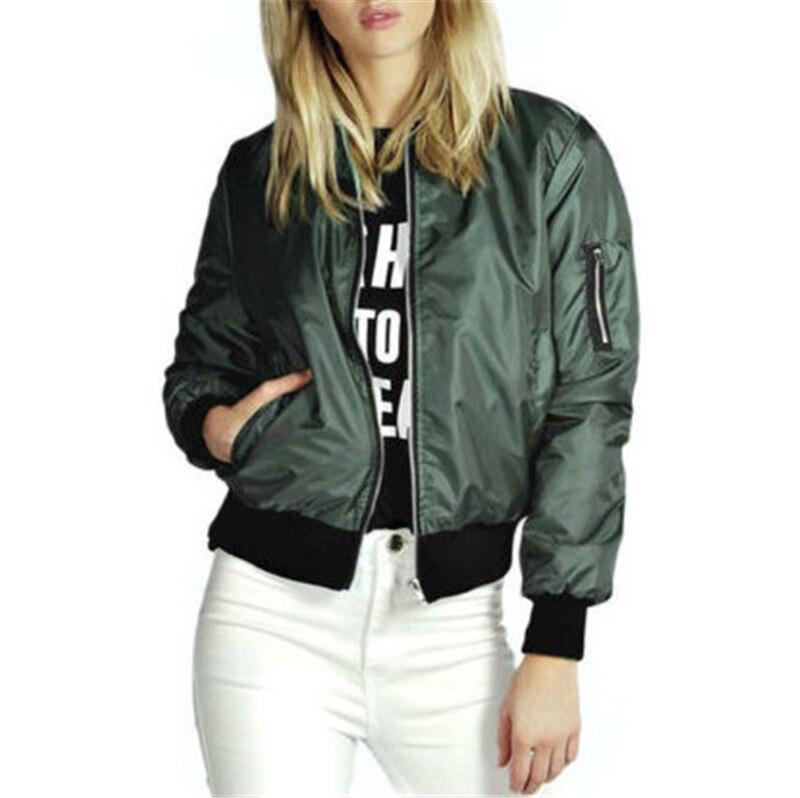 Fashion Windbreaker Jacket Women Summer Coats Long Sleeve Basic Jackets Bomber Thin Women's Jacket Female Jackets Outwear W3
