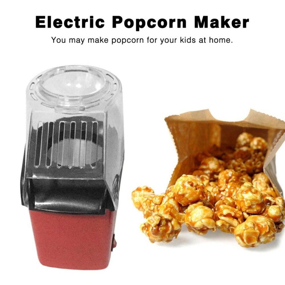 Мини Elektrische Huishoudelijke машина для приготовления попкорна автоматическая Natuurlijke Popcorn
