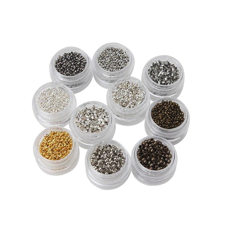 5 г/пакет 2/3 мм красочные металлические бусины позиционирование Клипсы из бисера бусины обжимной Конец Бусины Аксессуары для изготовления ювелирных изделий