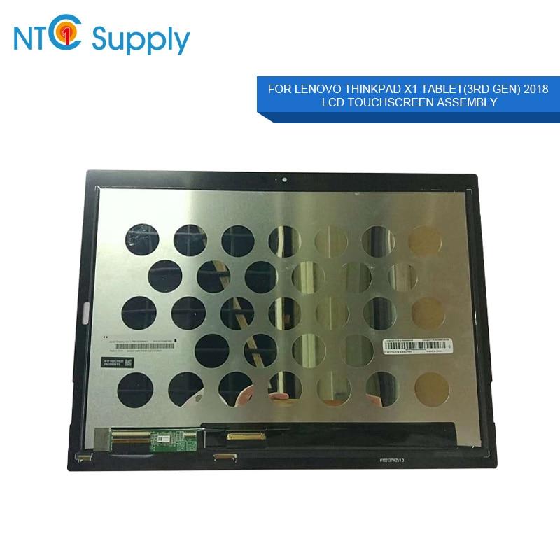 X1 MEIHOU Para Lenovo ThinkPad Tablet (3rd Gen) LPM130M364 UM PN SD10M67935 Assembléia Screen Laptop LCD P/N ST50M68038/B152137W2