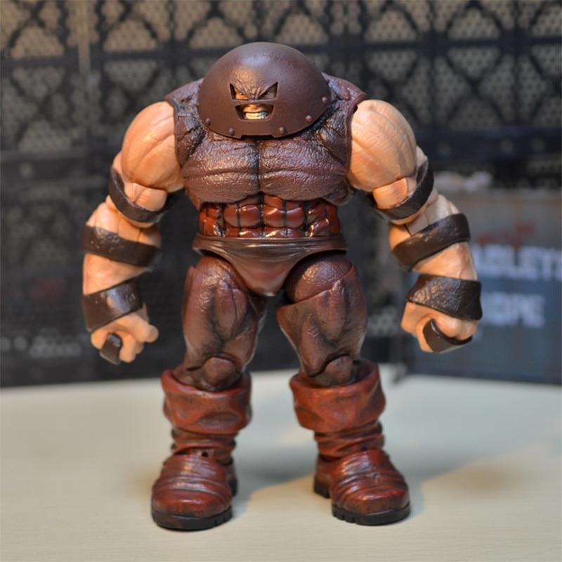 "Marvel selecciona X hombres Juggernaut 7 ""figura de acción 25cm KO de seleccionar la X-MEN Deadpool X Froce Cain Marko leyendas Juguetes"