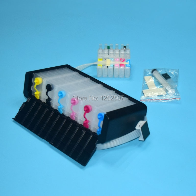 82N T0821N -T0826N Bulk Ciss System with ARC chips For Epson 1410 TX700W TX800 R615 RX590 RX610 RX690 TX650 Printers ink System