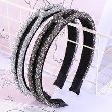 1pcs Women Girls Hairbands New Hair Bands Bling Knot Headband Beautiful Ladies Headbands Hair Access