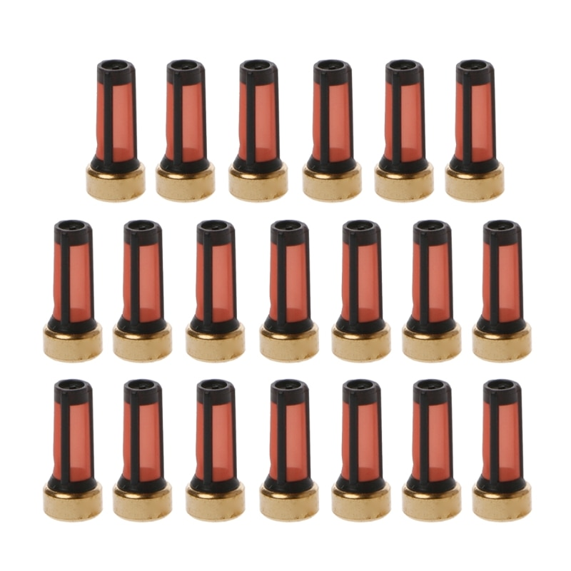 20 unidades de filtro Micro cesta de inyector de combustible para Audi BMW, Kits-m30 de reparación de inyector GMC
