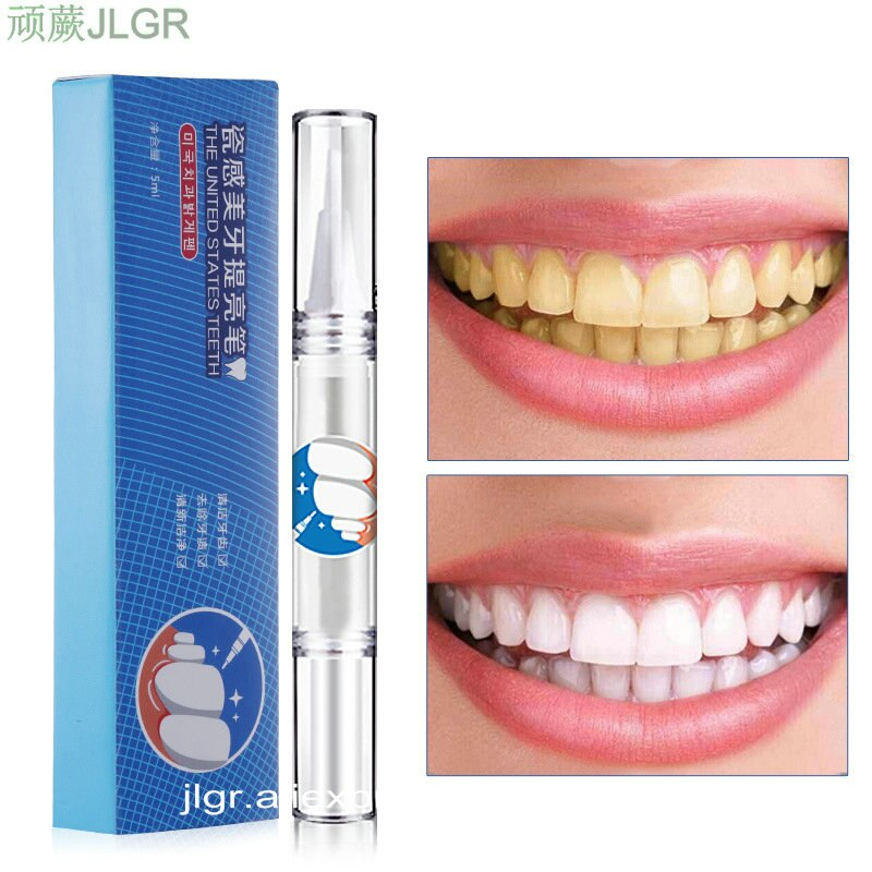 Gel branco dentes clareamento dente kit dental clareamento caneta para dentes falsos sorriso perfeito dentista branqueamento bleach mancha borracha cuidados