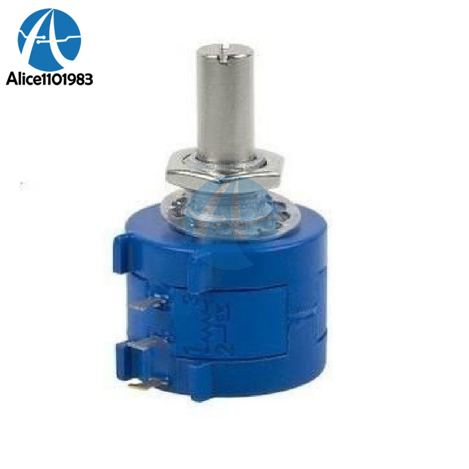 3590S-2-503L 50K Ohm potenciómetro de precisión Multi giro 10k anillo ajustable Resistor giro Ohm resistencia Variable