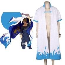 Costumes de Cosplay de Minato de Namikaze de NARUTO danime unisexe de haut-q