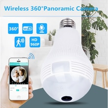 ZILNK Birne Lampe WI-FI IP Kamera 960P HD Panorama 3D VR Fisheye Licht 360 Grad Wireless Home Sicherheit CCTV nacht Vision iCSee