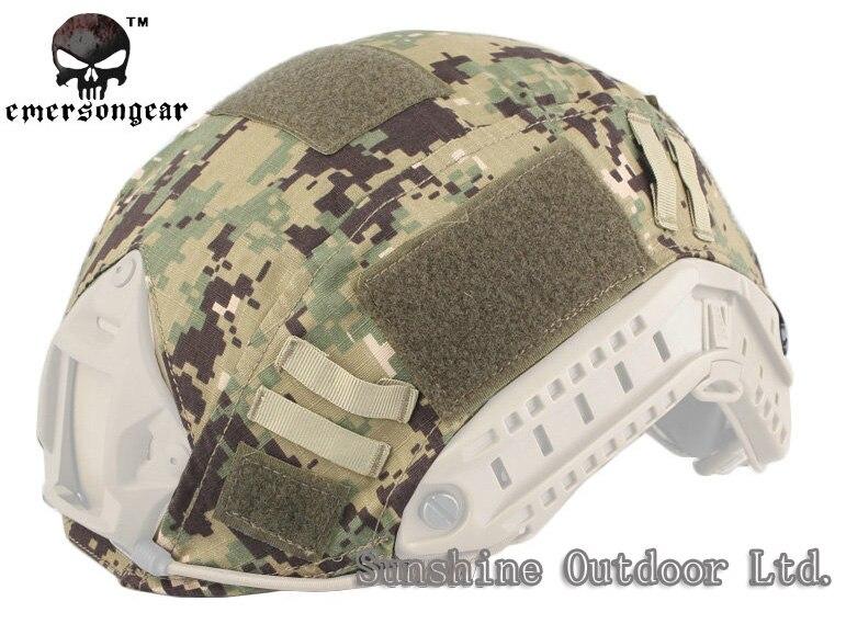Emersongear Тактический Быстрый Шлем Крышка для BJ/PJ/MH-бесплатная доставка