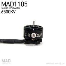 4 pièces MAD 1105 6500KV Mini moteur Brushless pour 130 150 FPV Racer 4 axes avion RC Drone quadrirotor minuscule whoop livraison gratuite