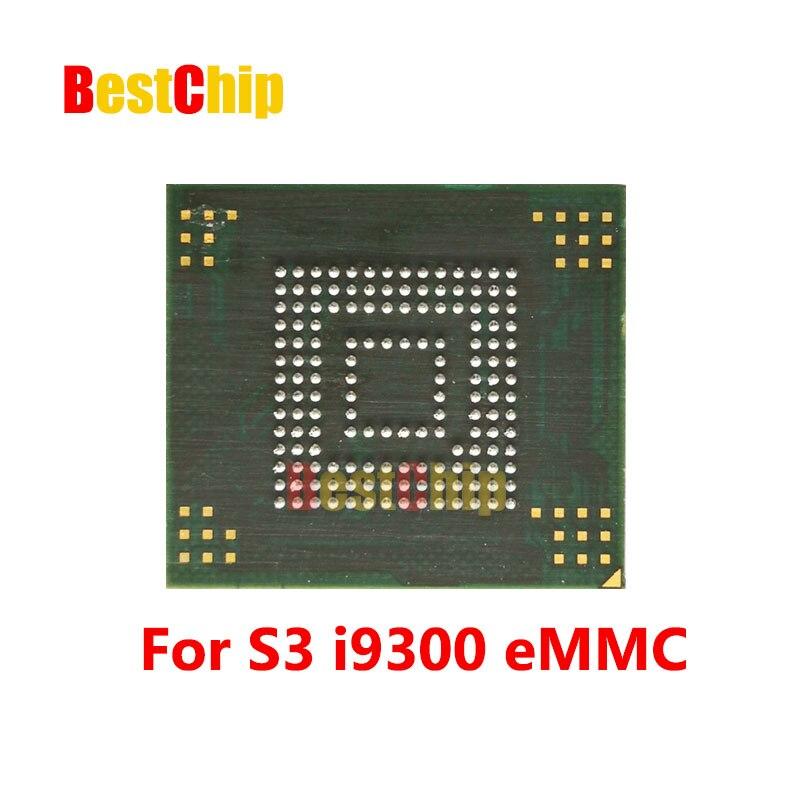 10 unids/lote para S3 I9300 NAND memoria Flash KMVTU000LM-B503 KMVTU000LM eMMC con firmware/programada