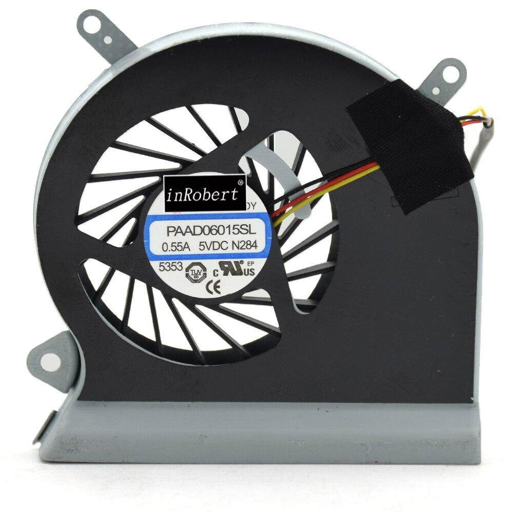 PAAD06015SL Notebook Cooler Fan 0.55A 3Pin Laptop Cooling Fan For MSI GE60 GP60 16GA 16GC MS-16GA MS-16GC