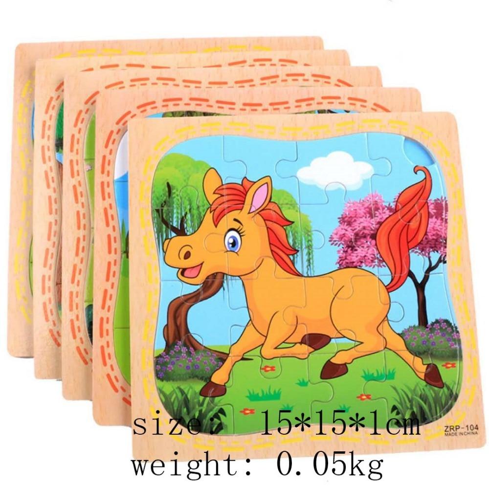 Animal en bois modèle jouet puzzle bois jouets bébé jeux éducatifs jouets pour enfants jouets éducatifs cadeaux pour enfants