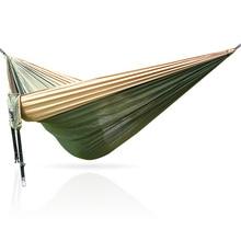 300*200cm 300cm Strong 210T Nylon Hammock Outdoor Furniture camping hamak cama garden furniture hamac hangmat hamaca bed muebles