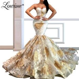 Slim Mermaid Evening Dresses Formal Dress Abendkleider 2019 Vestidos De Festa Longo Muslim Party Gown Robe Soiree Prom Dress